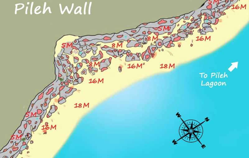 Thailand Liveaboard MV Giamani - Thailand Dive Sites - Phi Phi Islands Pileh Wall