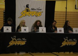 MVHS student athletes commit to schools on Signing Day