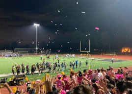 Spartans victorious against Santa Clara in homecoming football game