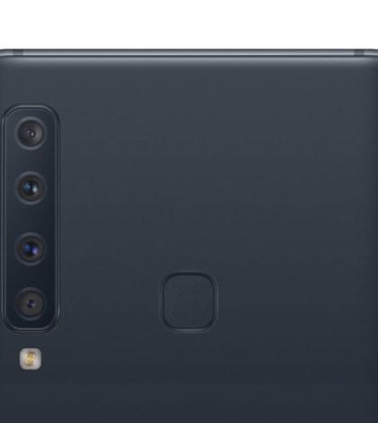 Galaxy A9 cámara cuatro lentes