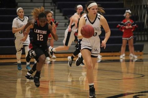 Girls basketball defeats Lansing at home