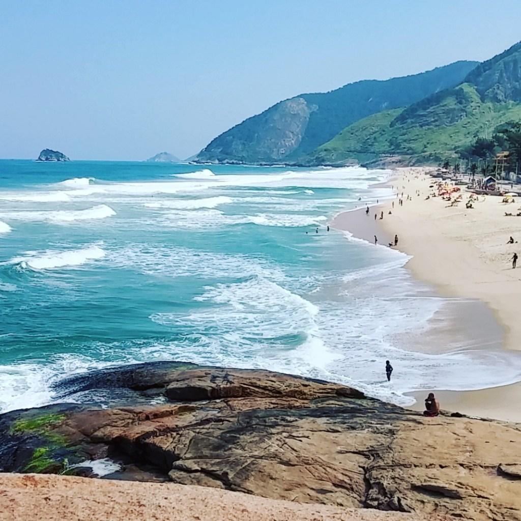 Praia da Macumba no Recreio dos Bandeirantes - RJ, by Luciana de Paula, 2016