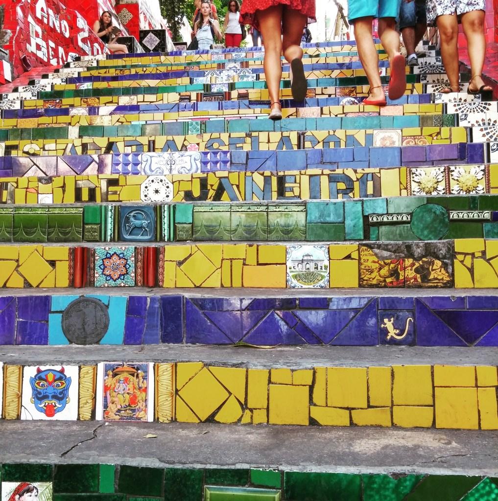 Escadaria Selaron, Rio de Janeiro - RJ, by Luciana de Paula, 2016