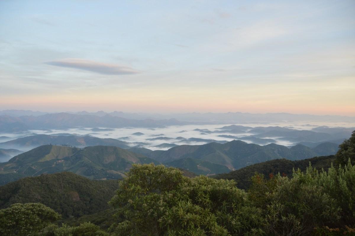 Escalada ao Pico da Bandeira, em Alto Caparaó - MG