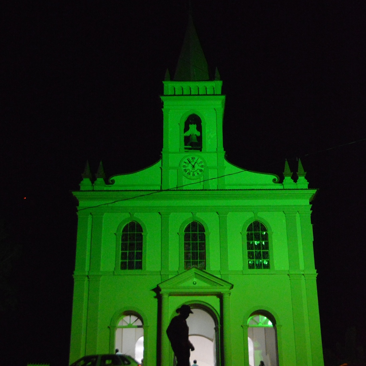 Igreja Matriz Versão Noite, Palma - MG, by Luciana de Paula, 2016