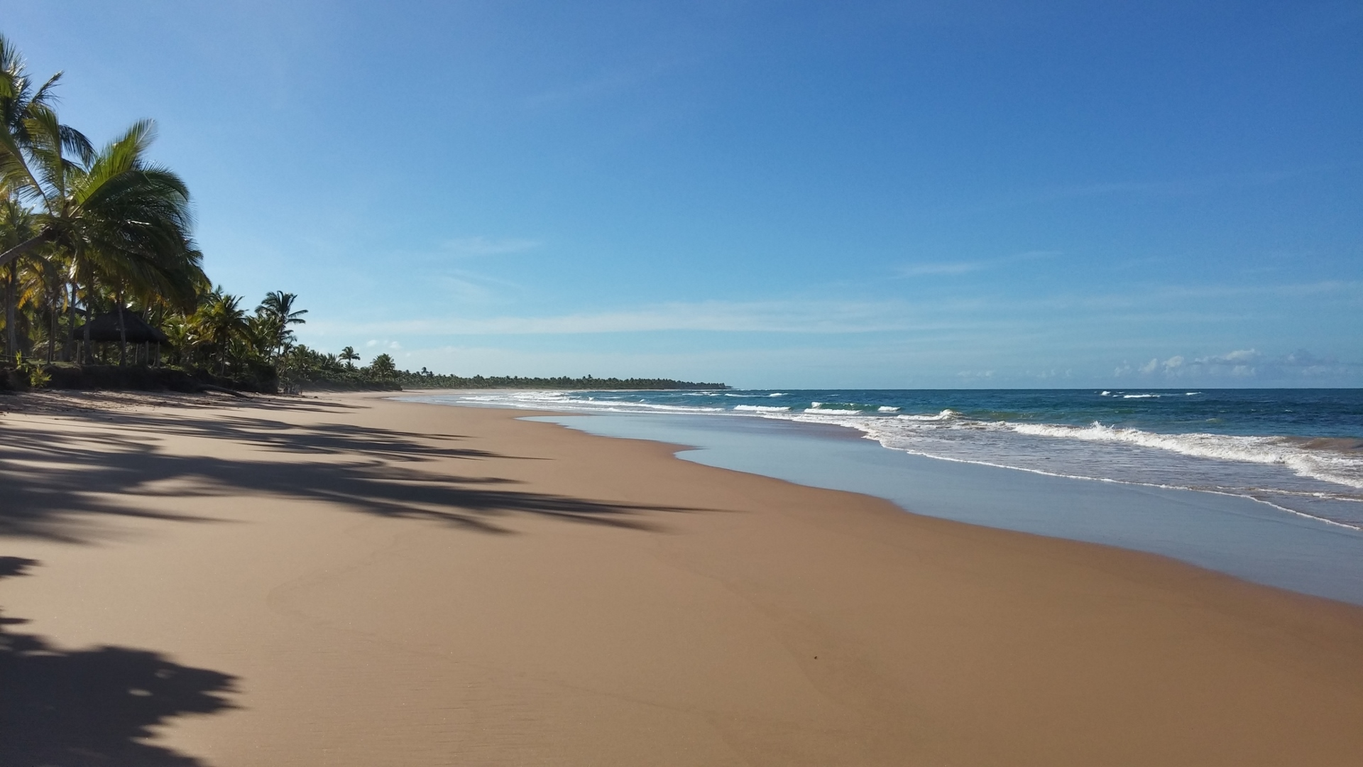 Praia de Algodões, Península de Maraú - BA, by Luciana de Paula, 2016