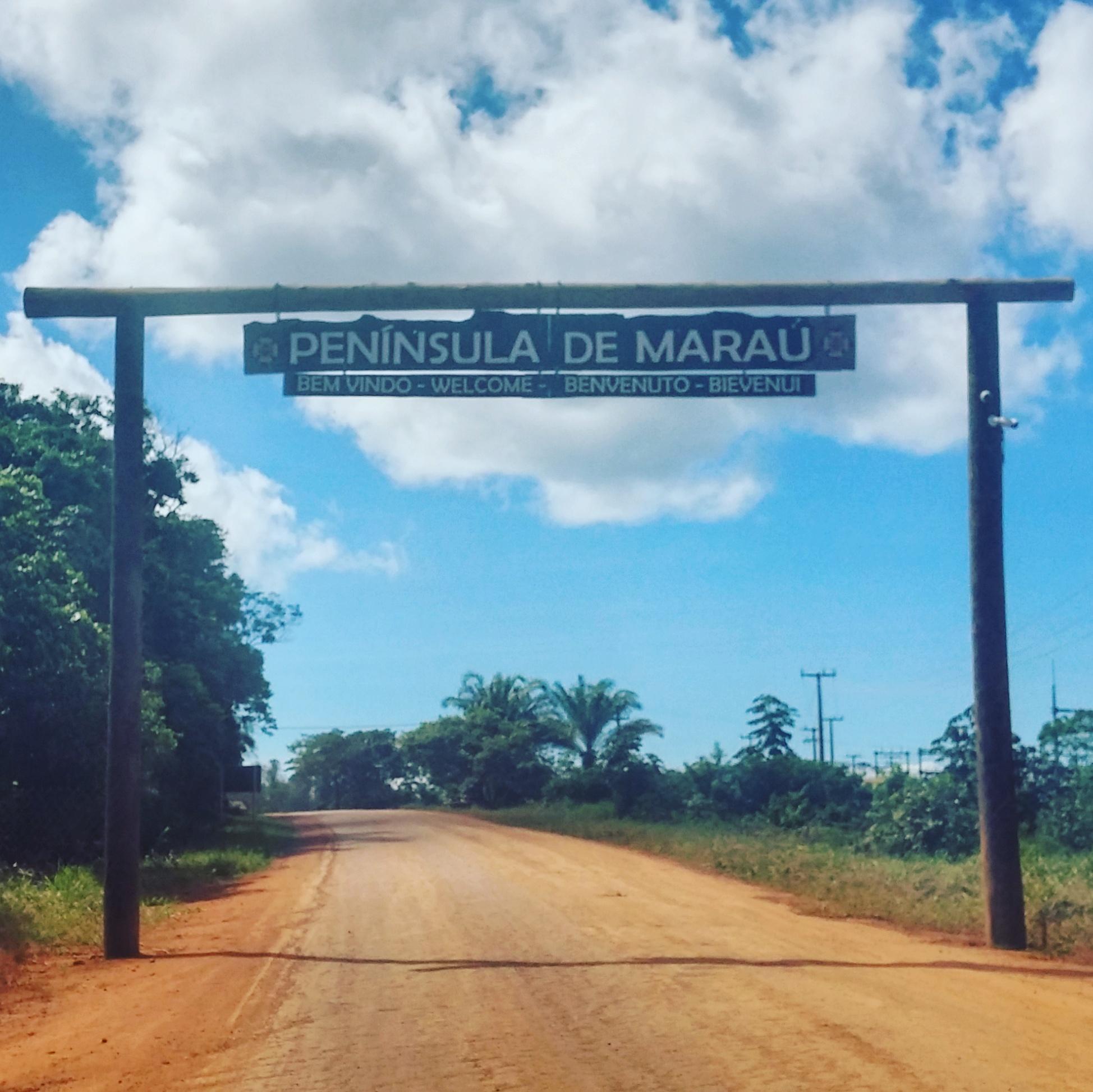 Entrada da Península de Maraú - BA, by Luciana de Paula, 2016