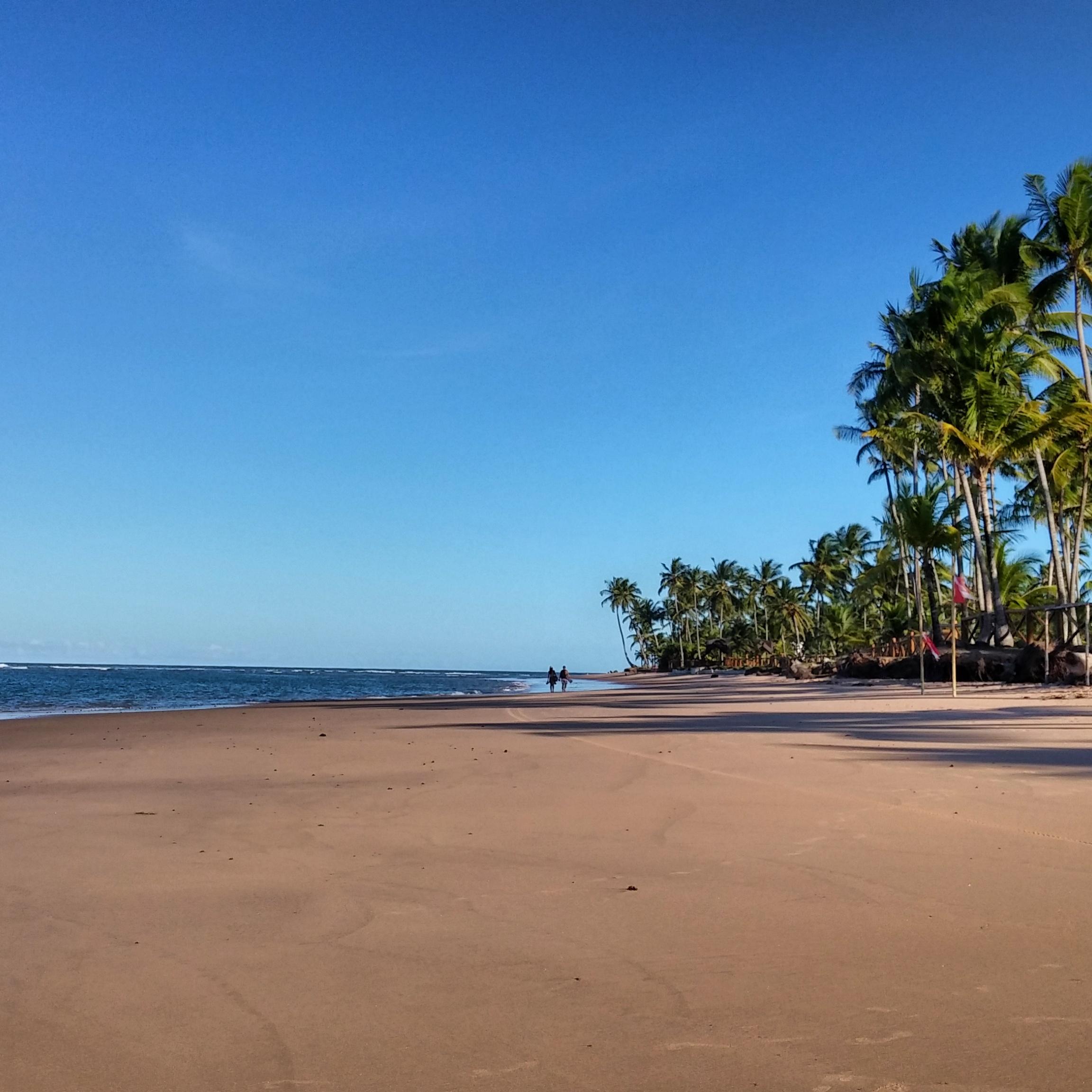 Praia de Taipu de Fora, Península de Maraú - BA, by Luciana de Paula, 2016