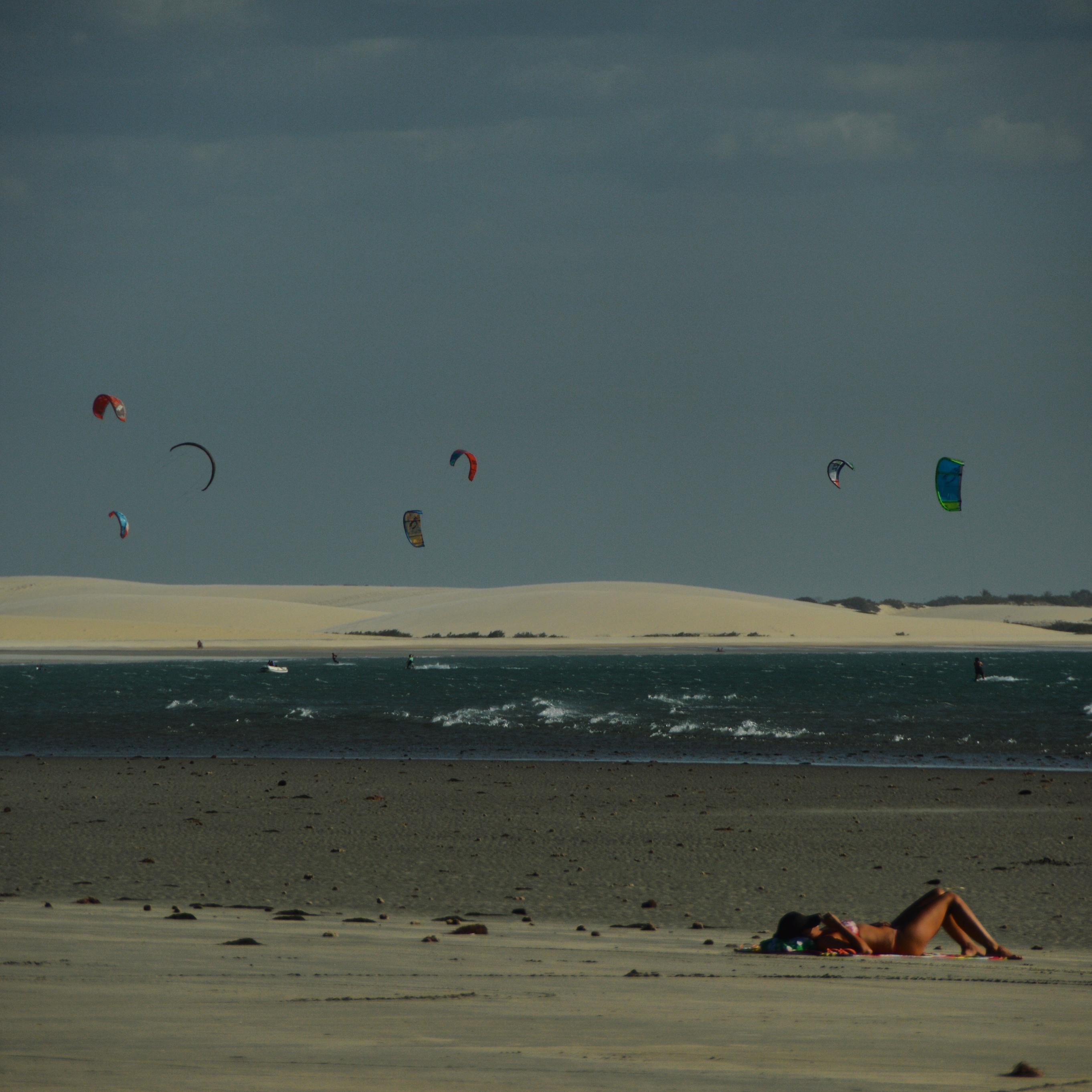 Praia, vento, duna e sol, Jericoacoara - CE, by Luciana de Paula, 2016