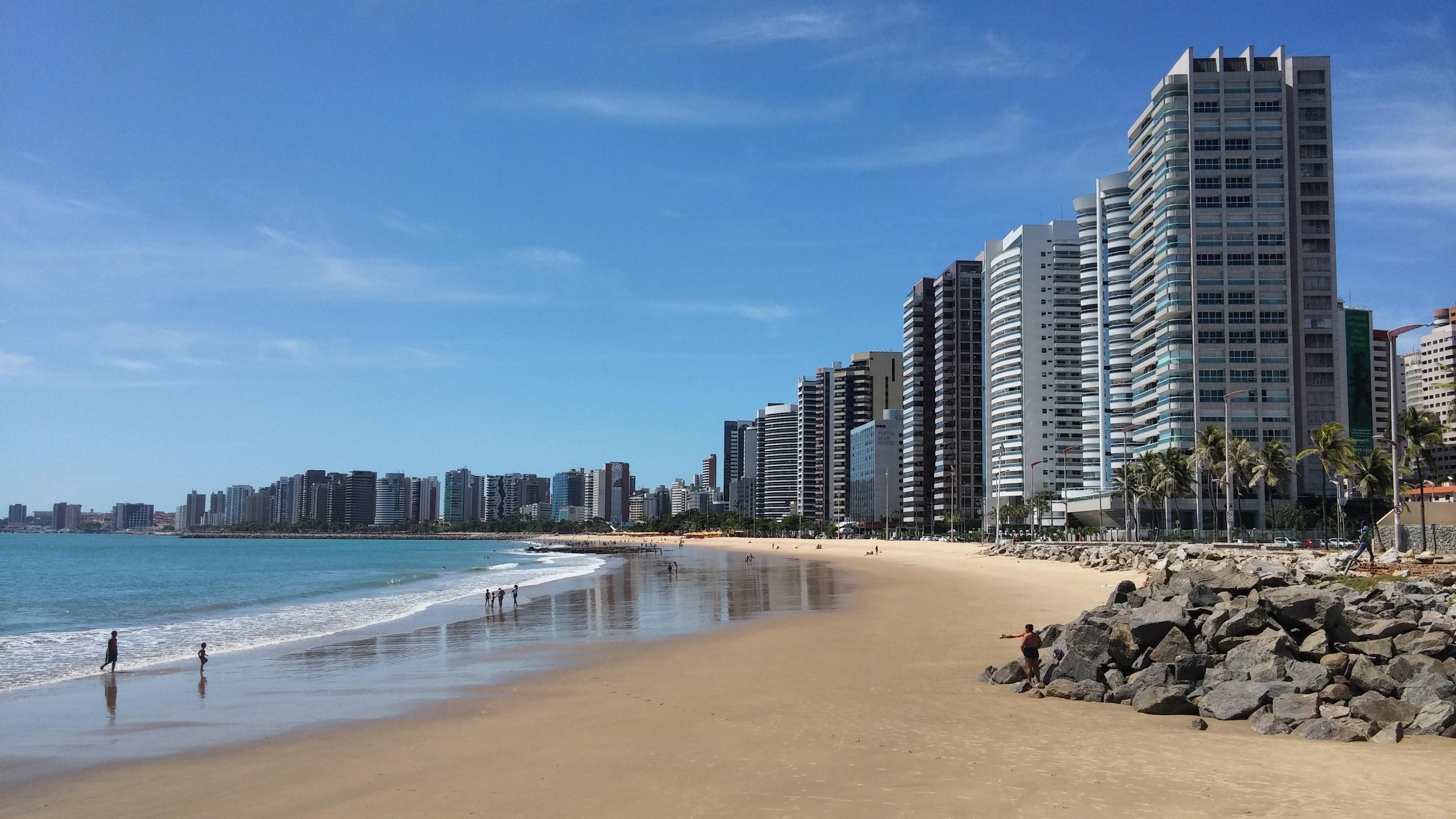 Praia de Iracema, Fortaleza - CE, by Luciana de Paula, 2016