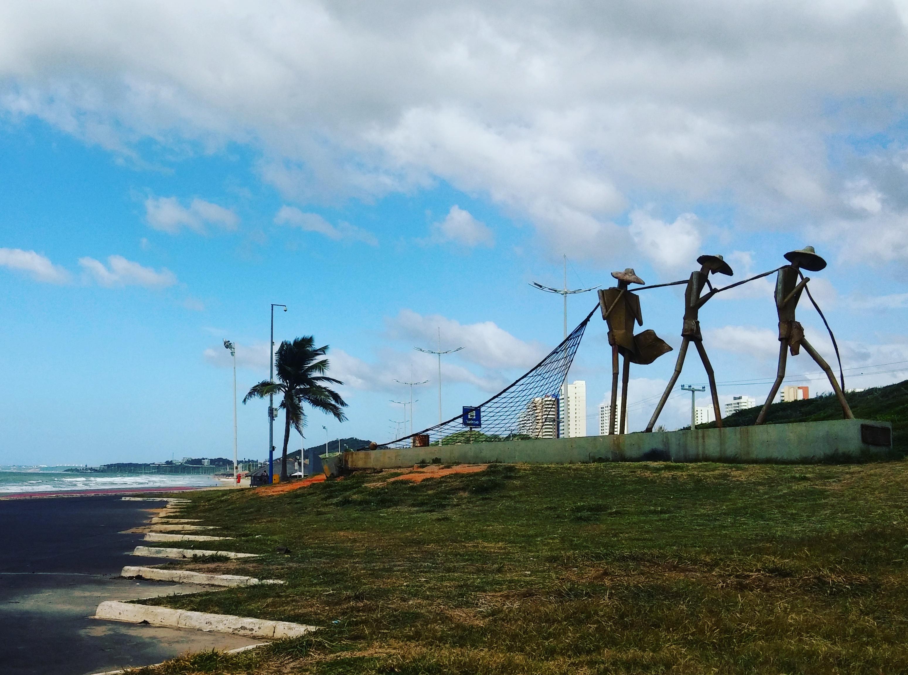 Praia Ponta da Areia, São Luís - MA, by Luciana de Paula, 2016