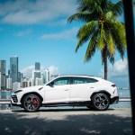 2019 Lamborghini Urus White Mvp Miami Exotic Rentals