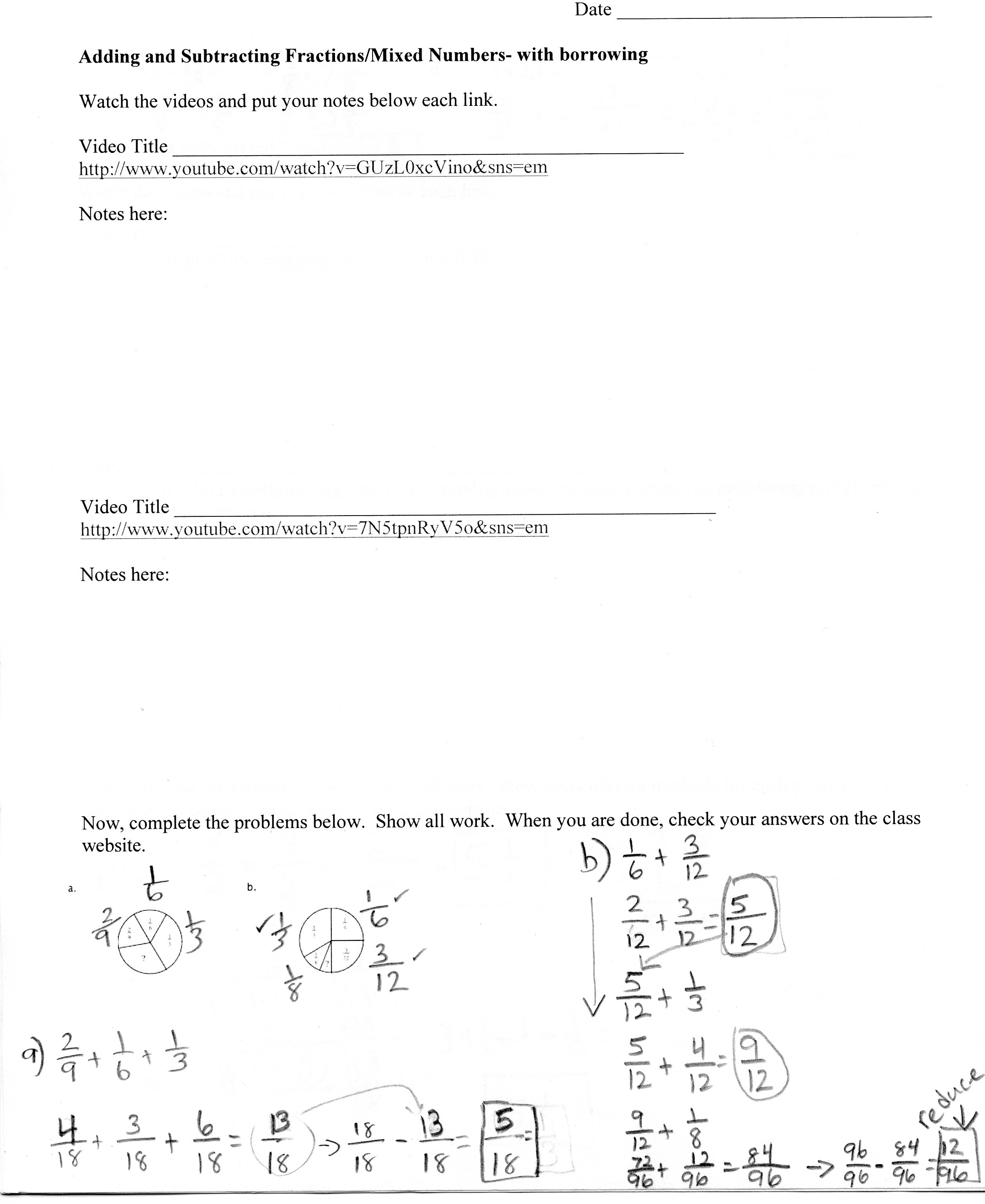 Patterson Brandolyn Homework Amp Class Work 1st 2nd 3rd Trimester Through 5 8