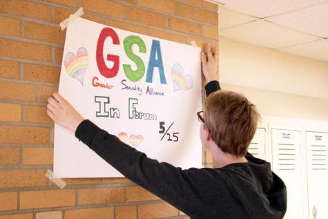 GSA leaders frustrated by missing posters