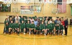 Boys basketball puts on a senior night to remember