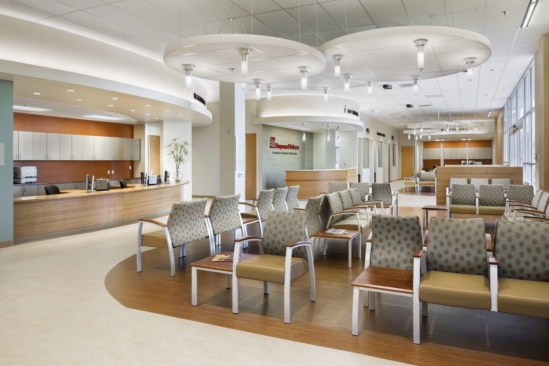 Hayward Wellness Center Waiting Area Mwa Architects