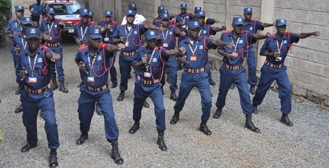 Kenyan Security Guards to Carry Guns, Make Arrests Under New Gov't ...