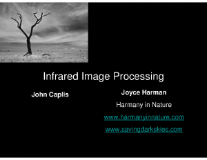Inrared Image Processing SM