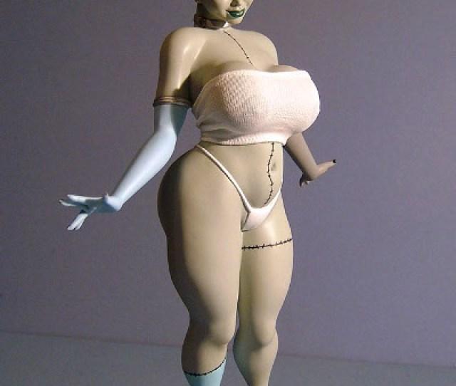 Booty Babe Franken Babe Statue By Spencer Davis
