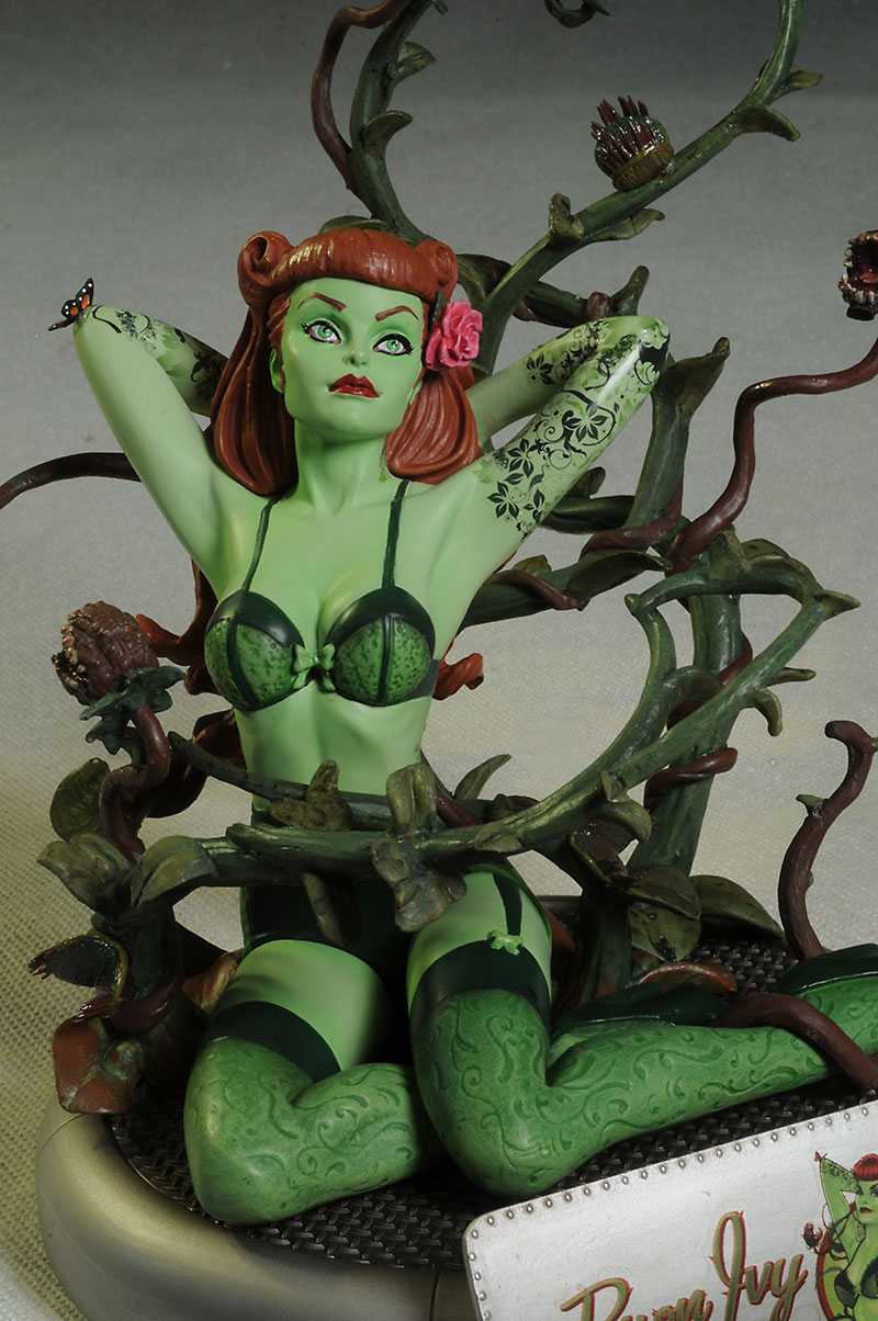 Review And Photos Of Poison Ivy DC Bombshells Statue By DC