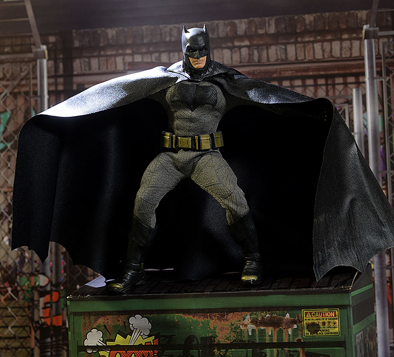 Batman V Superman Batman One:12 action figure by Mezco Toyz
