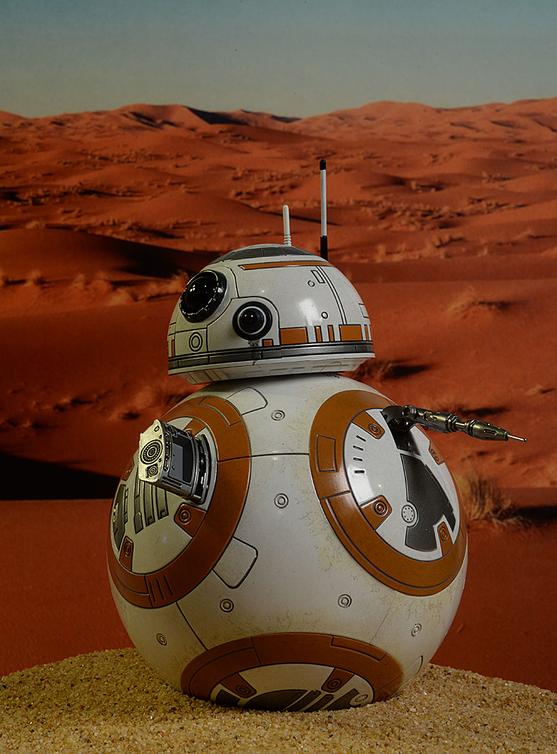 BB-8 Star Wars sixth scale figures by Hot Toys