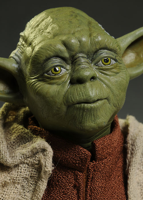 Review And Photos Of Star Wars Yoda Sixth Scale Action
