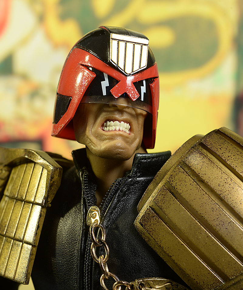 Judge Dredd sixth scale action figure by threeA