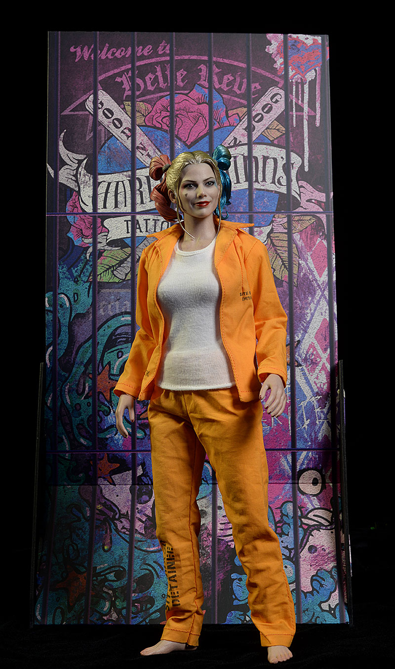 Suicide Squad Harley Quinn Prisoner sixth scale figure by Hot Toys