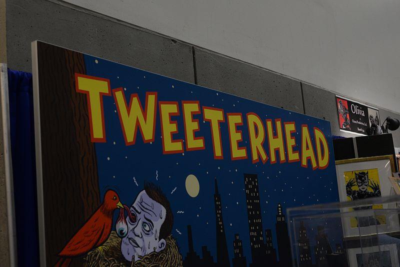 SDCC 2016 San Diego Comic-Con Tweeterhead