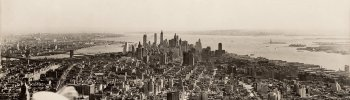 decoarchitecture: Opening Day, Empire State Building, NYC, New YorkPhoto by Samuel H. Gottscho Not a
