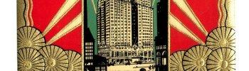 decoarchitecture: Hotel New Yorker Luggage LabelVintage via kylarose Lovely vintage label done in De