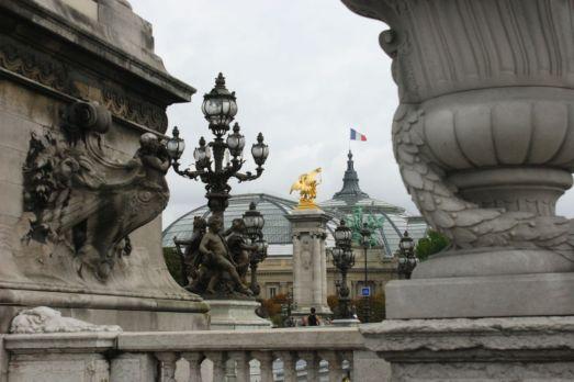 From Pont Alexandre III. Paris.