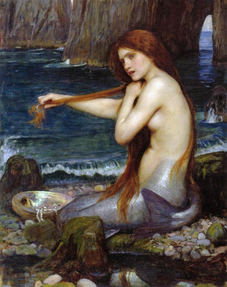 JW_Waterhouse_Mermaid