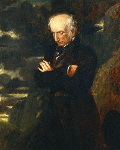 William Wordsworth by Benjamin Robert Haydon,1842