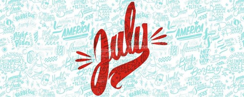 July Desktop Wallpaper Project