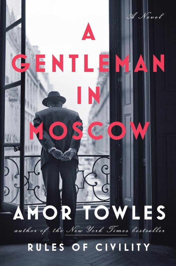 Cover.A Gentleman in Moscow