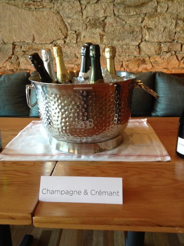 Napa Tasting Champagne