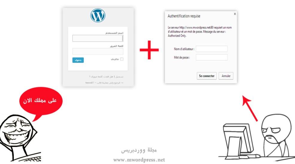 شرح حماية ملف wp-login.php