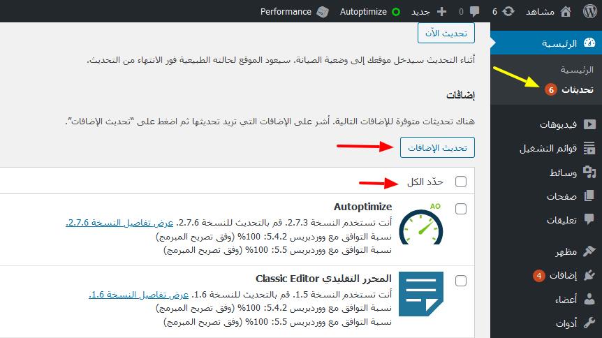 update plugins wordpress 5 5 - مجلة ووردبريس