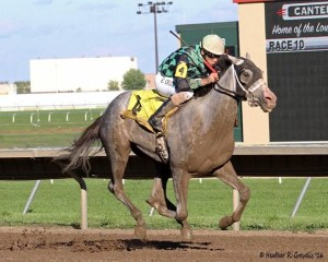 Even Thunder with Erick Cruz aboard soars to Shakopee Juvenile win