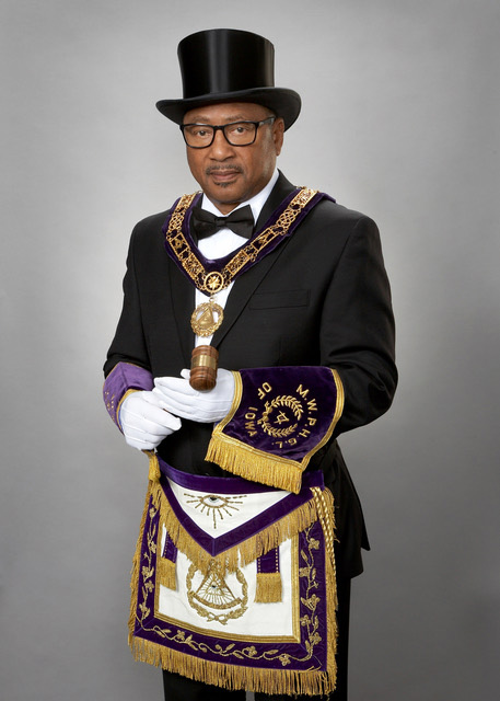 Most Worshipful Grand Master Earl J. Harrison