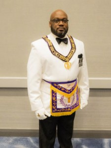 Junior Grand Warden Ike Rayford