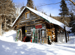 Harvard Mountaineering Cabin. Photo By Dave Leonard