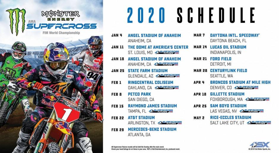 Lucas Oil Regional 2019 Schedule