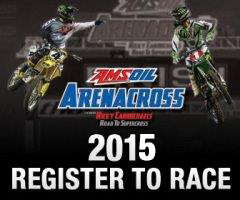 Amsoil Arenacross invades the Landers Center