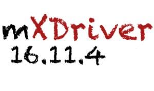 mXDriver 16 11 4 out – mXDriver com