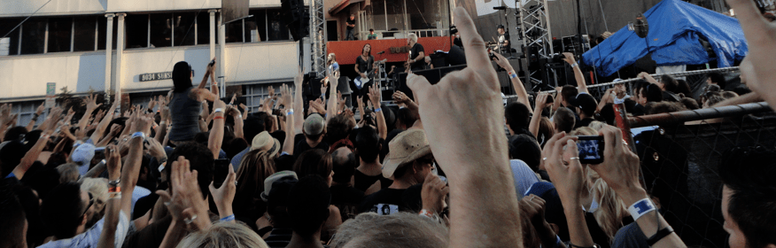 All Hands In the Air at the Sunset Strip Music Festival
