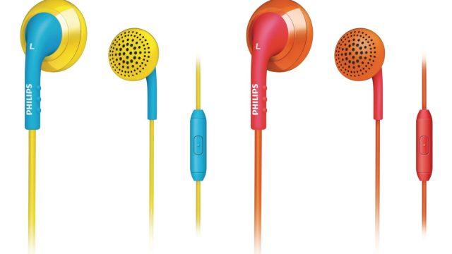 ฟิลิปส์แนะนำหูฟัง Ear-Bud รุ่นใหม่ Philips  SHE2675 ดีไซน์โดดเด่นสีสันสดใส สนุกสนานรื่นรมย์ไปกับบทเพลงโปรด