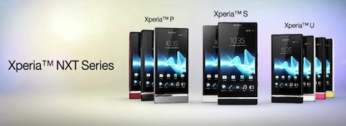 มาแล้วไม่ต้องหลุด Sony Xperia P / Xperia U